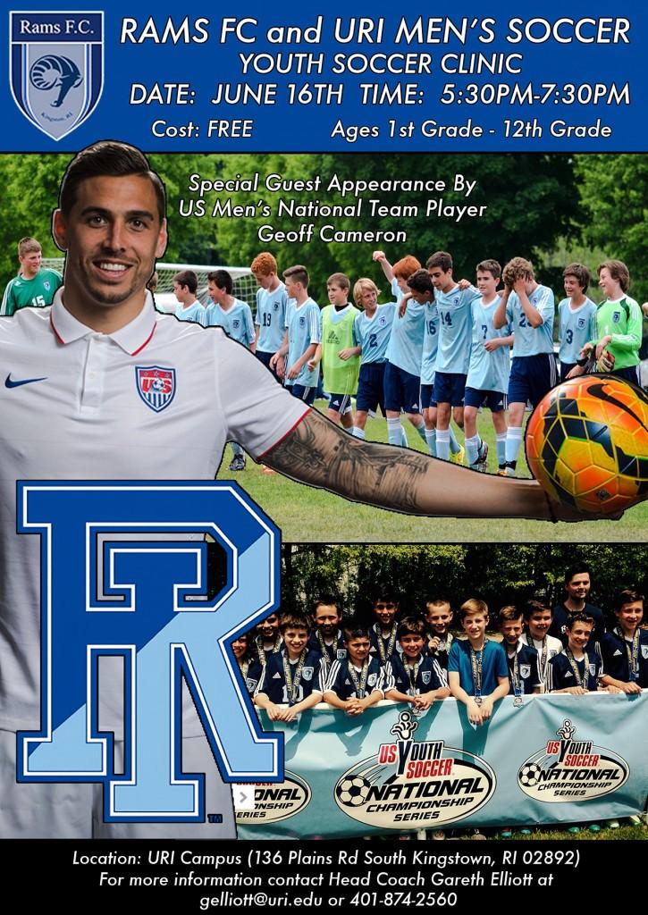 RamsFC_URI_Soccer_Clinic